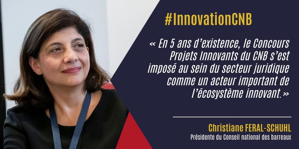 Verbatim Christiane Féral-Schuhl Concours projets innovants