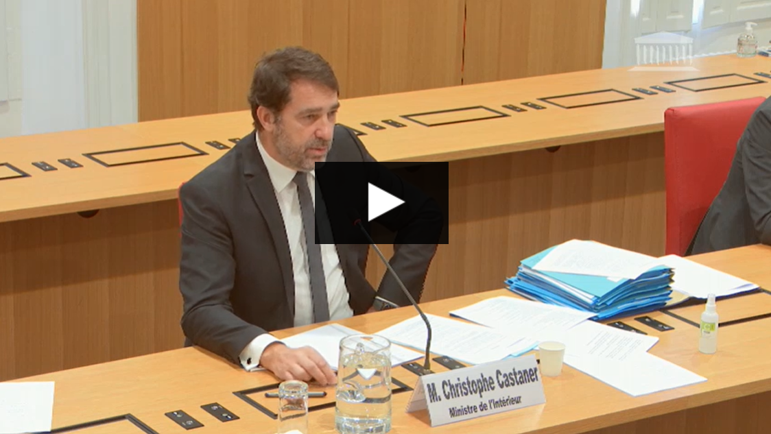 Audition de Christophe Castaner par l'Assemblée nationale