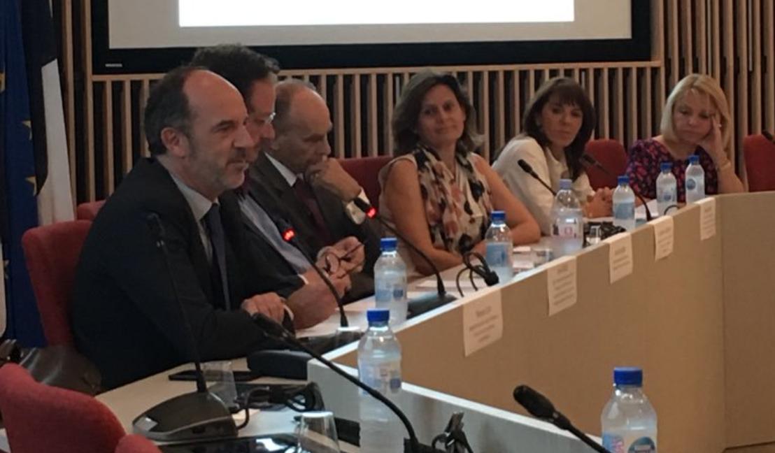 Thomas Clay, Louis Degos, Alain Hollande, Anne-Marie Leroyer, Elodie Mulon et Hélène Poivey-Leclerc - Etats généraux arbitrage 2018