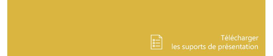 Supports de présentation du Grand Atelier des Avocats 2020