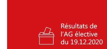 Résultats AG élective mandature 19.12.2020